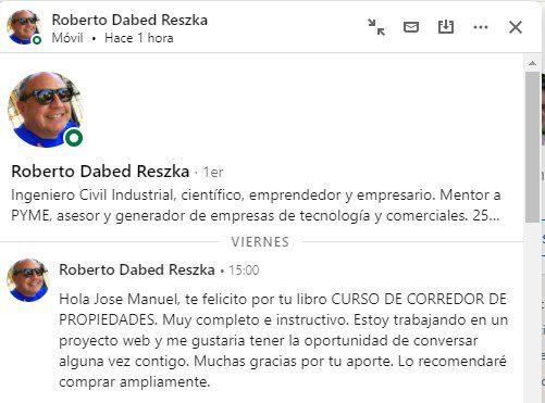 Testimonio de Roberto Dabed